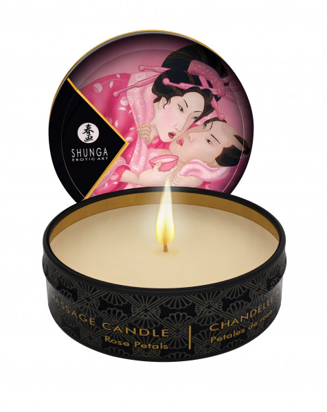 SHUNGA Massage Candle Aphrodisia/Rose