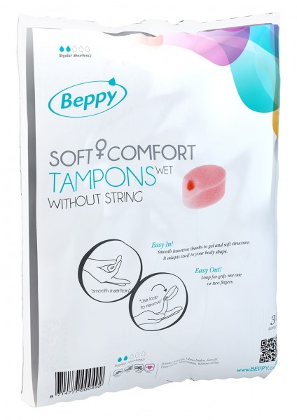 Beppy Soft Tampons Wet Megapack