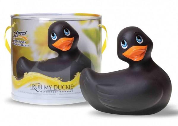 Bade-Ente mini schwarz