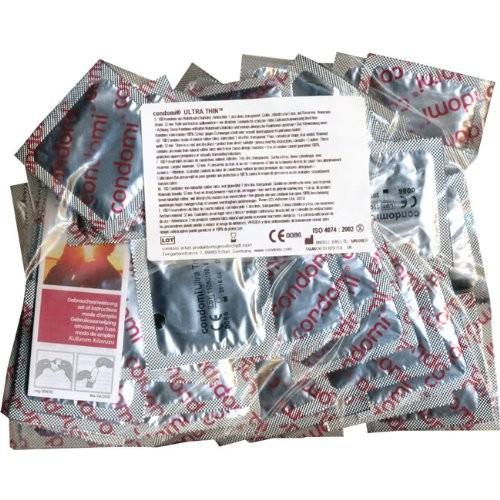 Condomi Ultra Thin 100er Pack