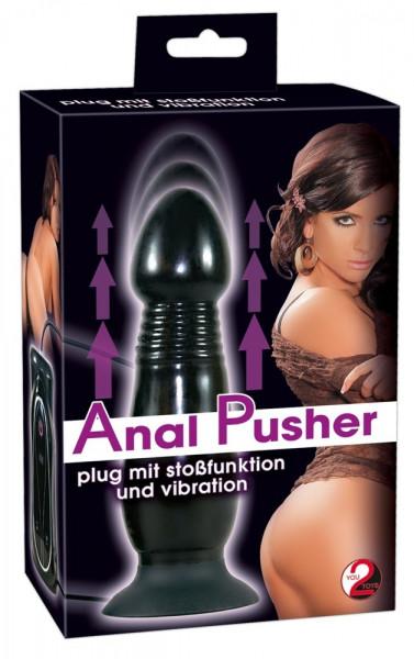 Vibro Plug Anal-Pusher