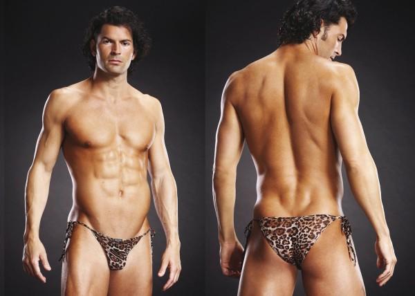 Man Slip Leopard