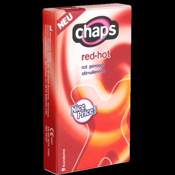 chaps red hot kondome im shop bestellen. Black Bedroom Furniture Sets. Home Design Ideas